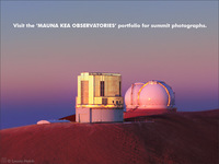 Visit the Mauna Kea Observatories Portfolio for more ...