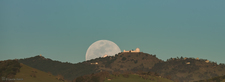 LH7446_Lick Observatory Shane Dome Moonrise