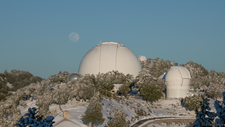 LH7436_Lick Observatory Snowy Moonrise